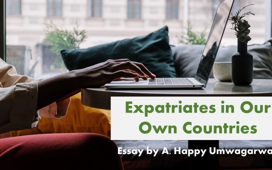 Expatriates in our own countries